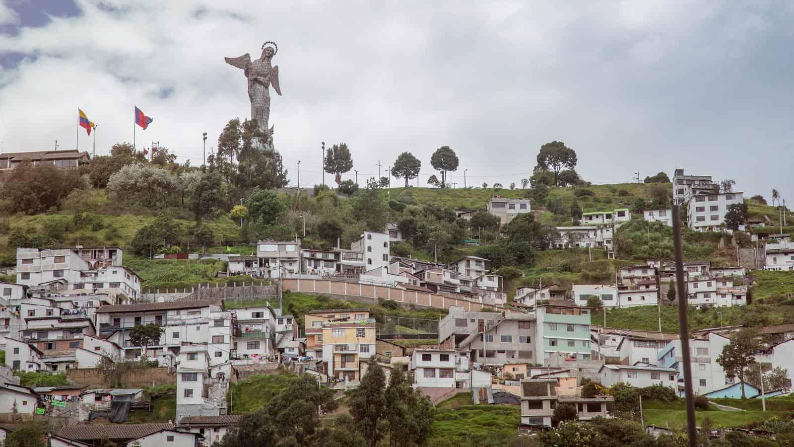 Web stranica za ekvador