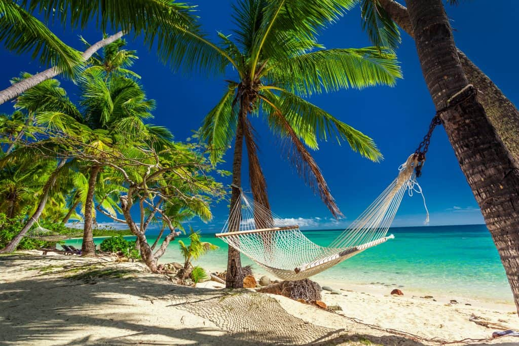 fiji travel beach