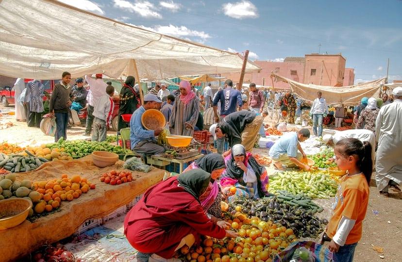 maroko hrana trznica