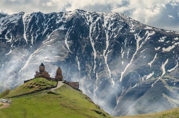 gergeti crkva gruzija