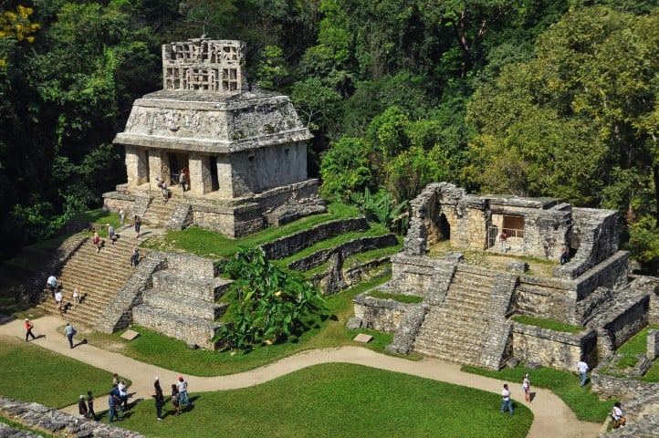 mexico palenque ruins small