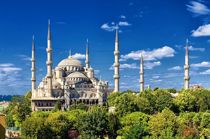 istanbul blue mosque turska 01